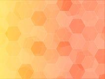 Искусство картины предпосылки полигона солнечности Стоковое Изображение