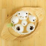 Искусство кофейной чашки и latte Стоковые Изображения