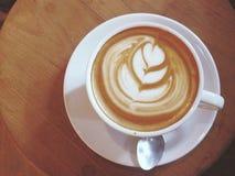 Искусство кофе последнее Стоковые Изображения