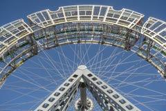 Искусство колеса Ferris общественное (детали) Стоковое Изображение RF