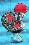 Искусство Монреаль улицы стоковые изображения rf