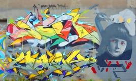 Искусство Монреаль улицы Стоковое Изображение