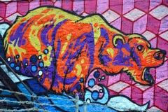 Искусство Монреаль улицы Стоковое Фото