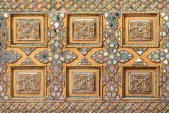 Искусство Мьянмы керамическое Стоковое фото RF