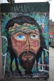 Искусство настенной росписи на восточном Williams в Бруклине Стоковые Изображения RF
