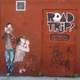 Искусство настенной росписи на восточном Williams в Бруклине Стоковая Фотография RF