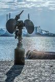 Искусство на порте Стоковое Фото