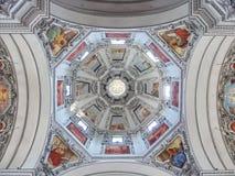 Искусство на потолке стоковое изображение