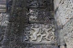 Искусство на Angkor Wat Стоковые Изображения RF