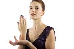 Искусство ногтя стоковая фотография