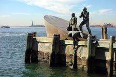Искусство Нью-Йорка США представляет землю Стоковые Изображения RF