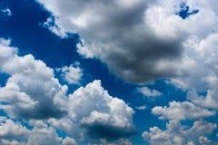 Искусство облака по своей природе Стоковое Изображение