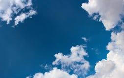 Искусство облака по своей природе Стоковая Фотография RF