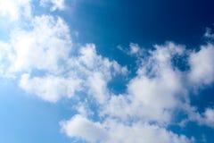 Искусство облака по своей природе Стоковая Фотография