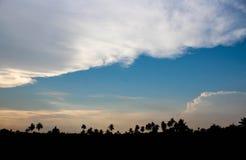Искусство облака по своей природе Стоковое Фото