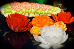 Искусство овоща еды Стоковое Изображение RF