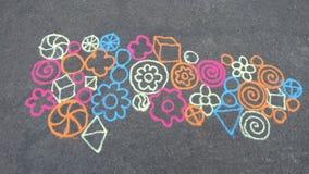 Искусство от песка Стоковое Изображение