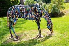 Искусство лошади причудливое Стоковые Фото