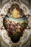 Искусство потолка собора Сент-Луис Стоковое Изображение RF