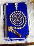Искусство пляжа Стоковые Фото