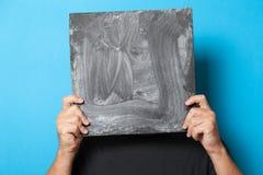 Искусство рекламирует пробел предпосылки, холст оформления Карта знамени дела r стоковая фотография
