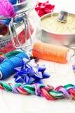Искусство соткать и вышивать Стоковое Изображение