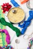 Искусство соткать и вышивать Стоковое Изображение RF