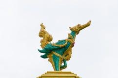 Искусство статуи лебедя Стоковая Фотография RF