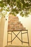 Искусство стены малого парка Кубы уникально с коробками стоковые изображения rf