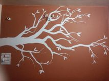 Искусство стены стоковые изображения