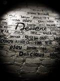 Искусство стены Стоковое Фото