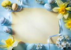 Искусство счастливая пасха Стоковое Изображение RF