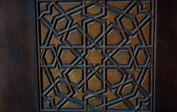 Искусство тахты турецкое с геометрическими картинами Стоковые Изображения