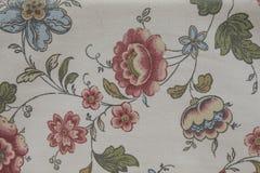 Искусство ткани картины цветка Стоковая Фотография