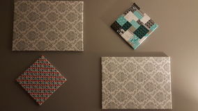 Искусство ткани стоковое фото rf