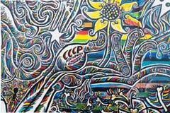 Искусство улицы галереи Ист-Сайд Стоковые Изображения RF