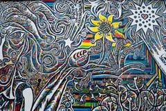 Искусство улицы галереи Ист-Сайд Стоковая Фотография