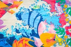 Искусство улицы граффити стоковая фотография rf