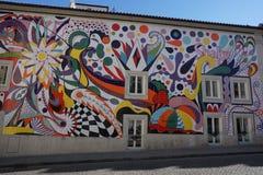 Искусство улицы Joana Vasconcelos в Порту, Porugal Стоковые Фото