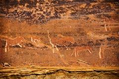 Искусство 13 утеса бушмена Drakensberg Стоковое Изображение
