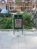 Искусство улицы Амстердама Стоковая Фотография