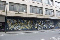 Искусство улицы Брюсселя Стоковые Изображения