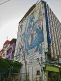 Искусство улицы в Бангкоке Стоковое фото RF