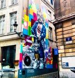 Искусство улицы в Брюсселе стоковое изображение rf