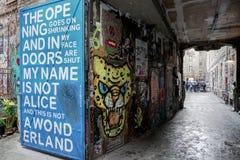 Искусство улицы в городе Германии Берлина Стоковые Фото