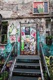 Искусство улицы в городе Германии Берлина Стоковое Изображение RF