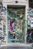 Искусство улицы в городе Германии Берлина Стоковая Фотография