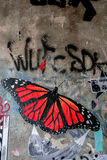Искусство улицы в городе Германии Берлина Стоковая Фотография RF