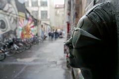 Искусство улицы в городе Германии Берлина Стоковое Изображение