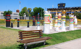 Искусство улицы в Ла Boca Стоковое Изображение